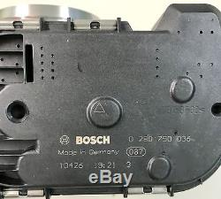 0280750036 3165143532867 Original Bosch Drosselklappe VW AG Neu