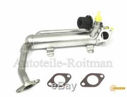 AGR Kühler Abgasrückführung Reglerklappe AUDI VW SKODA 1.9 2.0 TDI 03G131512AD