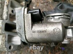AUDI VW GOLF MK5 2.0 TDI DIESEL BMN 170bhp THROTTLE BODY FLAP MOTOR 03G128063B
