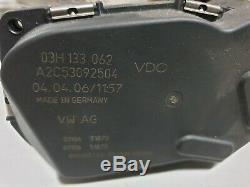 Drosselklappe AUDI A3 8P 3.2 V6 VW Golf 5 R32 Eos Passat 3C 03H133062 Tuning