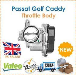 For VW Golf Passat Polo Scirocco Jetta Valeo Throttle Body + Gasket 03GL128063L