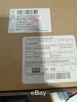 Genuine Volkswagen And Audi Throttle Body 022133062AG (Golf R32 and More)