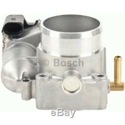 Original Bosch Drosselklappenstutzen Saugrohrklappe Steuerklappe Audi