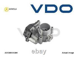 Throttle Body Flap Valve Inlet For Seat Audi Vw Skoda Ibiza IV St 6j8 6p8 Cfwa