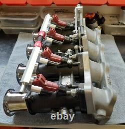 VW Golf 1.8 / 2.0 16V 45 DCOE Throttle Bodies Setup ITB ABF KR 9A Injectors TPS