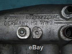VW Golf G60 Mark 2 Inlet Manifold with Throttle Body