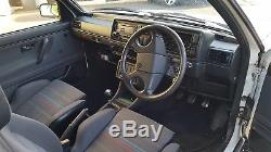 VW Golf GTi 16v 1991 3 Door White 2.0, throttle bodies, quaife