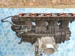 VW Golf R mk7 Inlet manifold with throttle body and injectors