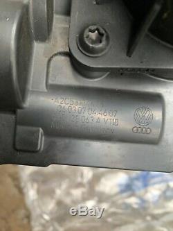 VW Golf V MK5 GT 1.4 TSI Throttle body, pipe Boost pressure valve Map Sensor