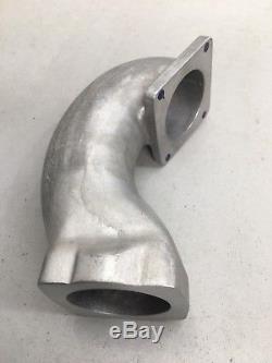 Vr6 Ruf Throttle Body Relocation Elbow Cast Alloy Turbo Sc 2.8 2.9 Vw Golf Rsc